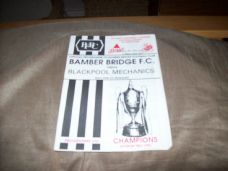 Bamber Bridge v Blackpool Mechanics, 1992/93